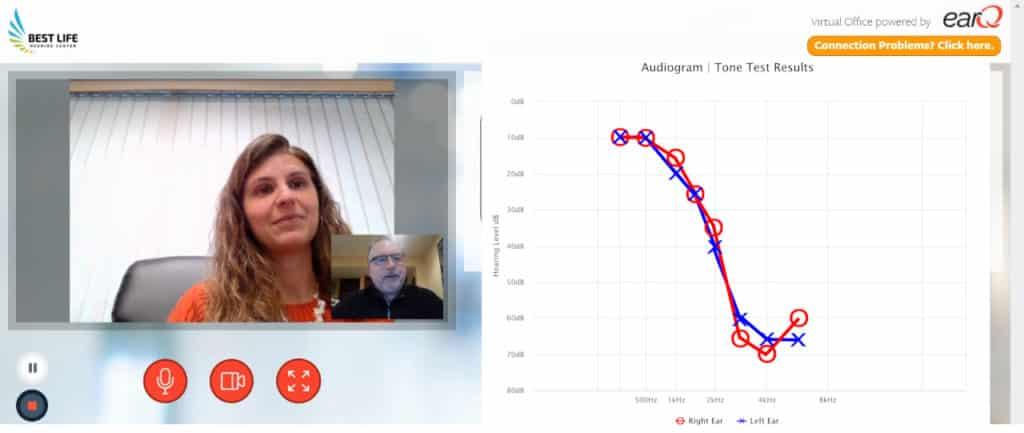 Jennifer Micacci using EarQ Virtual Office